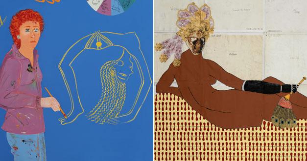 Joan Brown Paintings
