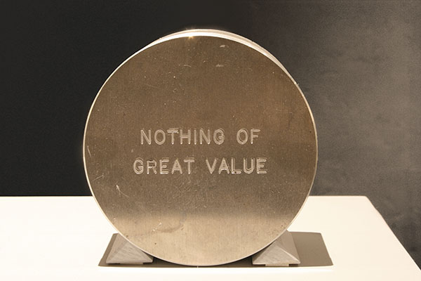 Nothing of Great Value