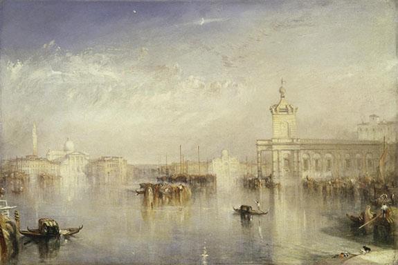 J.M.W. Turner, The Dogano, San Giorgio, Citella, from the Steps of the Europa