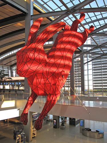 Sacramento Airport Art Scores A Hit Squarecylinder Com